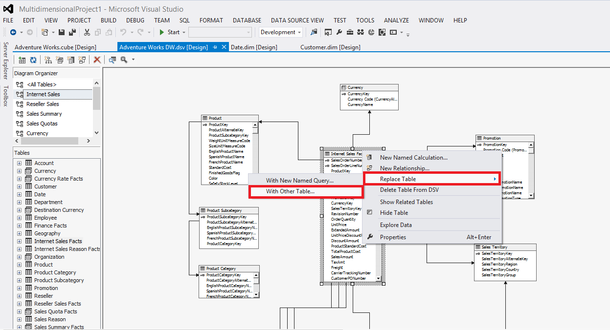 SSAS Best Practices Series – Part III – Relational Data